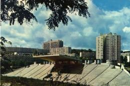 42 FIRMINY LE STADE MUNICIPAL (LE CORBUSIER ARCH )   ET FIRMINY VERT (ANDRE SILVE MAECEL ROUX CHARLES DELFANTE ARCHTES ) - Firminy