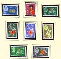 FIJI  -  1959 Definitives Set Unmounted/Never Hinged Mint - Fidji (...-1970)