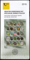 Croatia 2019 / Croatian War Of Independence - Special Police Units / Prospectus, Leaflet, Brochure - Kroatien