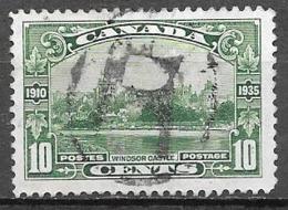 1935 10 Cents 25th Anniversary, Used - Gebruikt