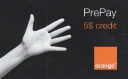 PREPAID PHONE CARD ROMANIA-ORANGE (PK1593 - Romania