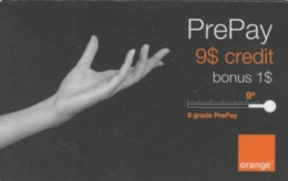 PREPAID PHONE CARD ROMANIA-ORANGE (PK1592 - Romania
