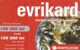 PREPAID PHONE CARD ROMANIA (PK1613 - Romania