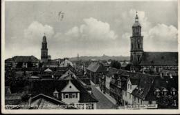 ! Alte Ansichtskarte Erlangen,  Anti Judaica Slogan, 1936, Sonderstempel Reichstagung Der Auslandsdeutschen, Südafrika - Erlangen