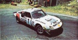 CG-Simca 1300  -  Championnat De France Des Rallyes 1971  -  PHOTO (150x100mms) - Rallyes