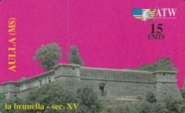 PREPAID PHONE CARD ITALIA-ATW AULLA (PK1521 - [2] Sim Cards, Prepaid & Refills
