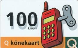 PREPAID PHONE CARD ESTONIA (PK1654 - Estland