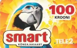 PREPAID PHONE CARD ESTONIA-TELE2 (PK1656 - Estland