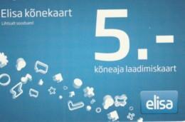 PREPAID PHONE CARD ESTONIA (PK1675 - Estland