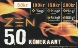 PREPAID PHONE CARD ESTONIA (PK1679 - Estland