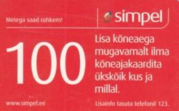 PREPAID PHONE CARD ESTONIA (PK1701 - Estland