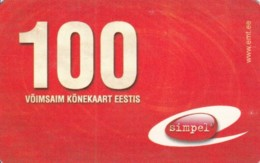 PREPAID PHONE CARD ESTONIA (PK1703 - Estland