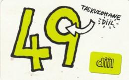 PREPAID PHONE CARD ESTONIA (PK1710 - Estland