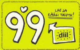 PREPAID PHONE CARD ESTONIA (PK1712 - Estland