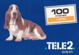 PREPAID PHONE CARD RUSSIA-TELE2 (PK1725 - Russia