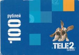 PREPAID PHONE CARD RUSSIA-TELE2 (PK1734 - Russia