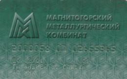 CARTA CREDITO- RUSSIA -SCADUTA-NON ATTIVA (PK1736 - Cartes De Crédit (expiration Min. 10 Ans)