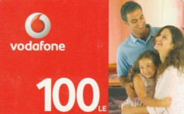 PREPAID PHONE CARD EGITTO-VODAFONE (PK1248 - Aegypten