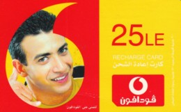 PREPAID PHONE CARD EGITTO-VODAFONE (PK1249 - Aegypten