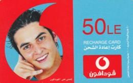 PREPAID PHONE CARD EGITTO-VODAFONE (PK1252 - Aegypten