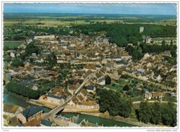 Carte Postale 45. Chatillon - Coligny Vue D'avion Trés Beau Plan - Chatillon Coligny