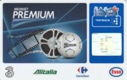 CARTA DI CREDITO -NON ATTIVA PAYBACK MEDIASET PREMIUM (PK1495 - Tarjetas De Crédito (caducidad Min 10 Años)