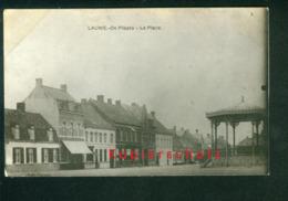 AK Lauwe, De Plaats, La Place, Menen, Edit. Deman, Datiert 1918 - Menen
