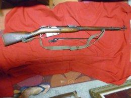 """Fusil Russe """"mozin Nagan"""" Daté 1941 """" Neutralisé """" En Manufacture - Armas De Colección"""