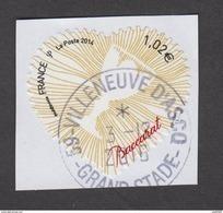 France -Timbre Oblitéré - Autoadhésif - N° 940 - Coeur Baccarat - France