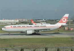 THI - Turkish Airlines A330 TC-JNC Avion Aviation At Istambul Aiplane British - 1946-....: Era Moderna