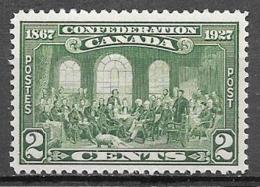 1927 2 Cents Confederation, Mint Never Hinged - Gebruikt