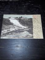 Cartolina Postale, Postcard 1900, Glacier Du Rhone - VS Valais