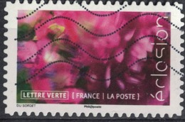 France 2019 Oblitéré Used Éclosion Le Dahlia - Usati