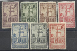 COTE FRANCAISE DES SOMALIS 1923 YT 148/154** - SANS CHARNIERE NI TRACE - Côte Française Des Somalis (1894-1967)