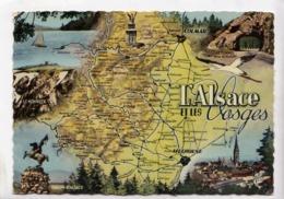 L'Alsace Et Les Vosges, 1960 Used Postcard [23540] - Alsace