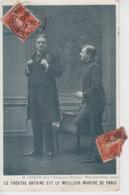 """CPA Théâtre Antoine """"Le Meilleur Marché De Paris"""" - M. Gémier Dans """"Sherlock Holmes"""" - Theater"""