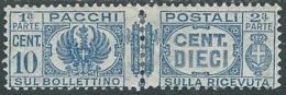 1927-32 REGNO PACCHI POSTALI 10 CENT MH * - RB14-2 - Paketmarken