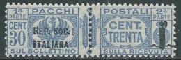1944 RSI PACCHI POSTALI 30 CENT MNH ** - RB14-2 - Colis-postaux