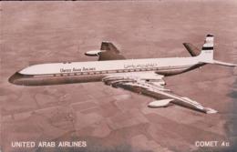 Aviation, Avion Comet 4 C De United Arab Airlines (3019) - 1946-....: Ere Moderne