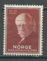 Norvège YT N°200 Office Nansen Pour Les Réfugiés Oblitéré ° - Norvège