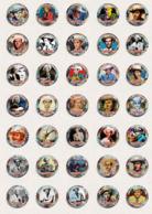 35 X Hank Williams Music Fan ART BADGE BUTTON PIN SET 1 (1inch/25mm Diameter) - Music