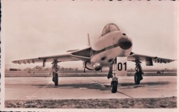 Aviation, Armée Suisse, Avion Hunter (75) - Aérodromes