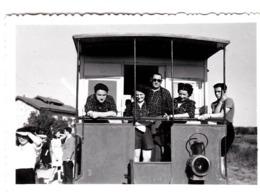 Photo : Train Petite Photo Le Tacôt De La CGB à Orveau (91) En 1948 - Trains