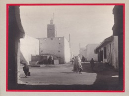 RABAT Maroc  1921 Ambiance De Rue Photo Amateur Format Environ 5,5 X 3,5 - Lieux