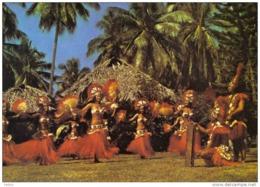 Carte Postale Polynésie Française Tahiti Invitation à La Danse Jeunes Tahitiennes Trés Beau Plan - Tahiti