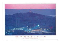 SPORT FOOTBALL 13 – MARSEILLE : Le Stade Vélodrome De Nuit - Soccer
