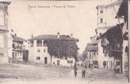 Favria Canavese  Piazza S. Pietro - Italia