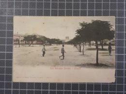 11.680) Angola Africa Portuguesa Luanda Rua Salvador Ed. A. Biler Depósito Do Gelo /dobrado E Defeituoso - Angola