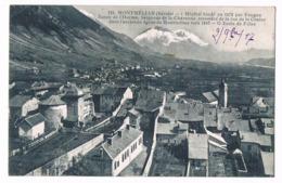 MONTMELIAN  73  Vue Sur L'école De Filles .1917 - Montmelian