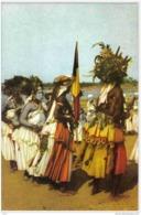 Carte Postale Afrique Congo Stanleyville Les Arabisés Danse Pour Le Roi Trés Beau Plan - Congo - Kinshasa (ex Zaire)